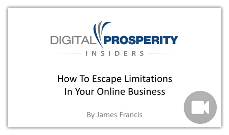 How To Escape Limitations In Your Online Business